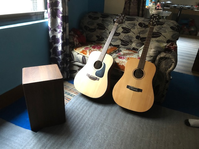 Guitars and Cajon